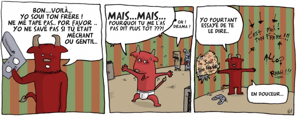Valls avec Bachir dans Affaires interieures 41_le_masque_tombe1